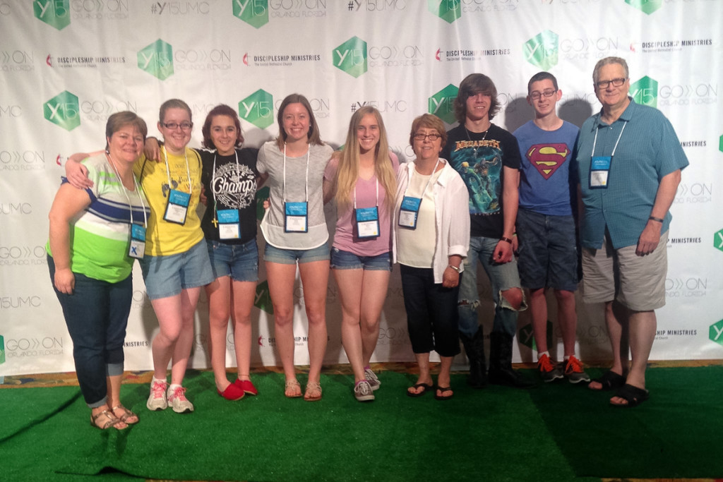 "Nardin Park Youth youth at ""Youth 2015"" in Orlando"